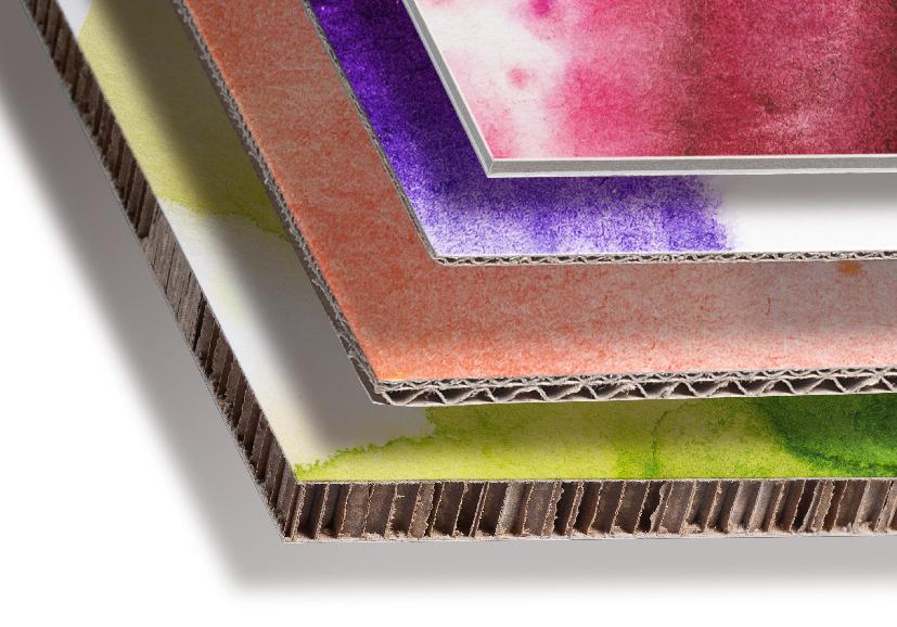 La stampa su cartone, realizzata con inchiostri ecologici latex a base acqua, è resistente all aluce, Nelle varie sottocategorie trovi i tipi di cartone che puoi ordinare