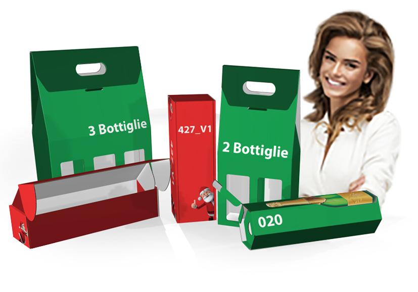 Stampa le tue scatole personalizzate in cartone ondulato per confezionare le tue bottiglie