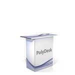 Tavolino personalizzato in PVC polionda