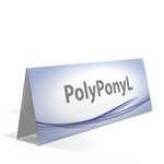 Cavalletto Espositore in pvc polionda