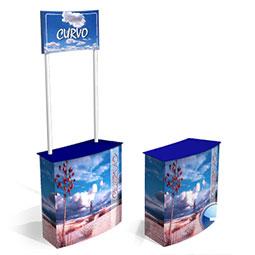 Tavolino promozionale in cartone