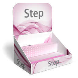 Step - Espositore a scaletta