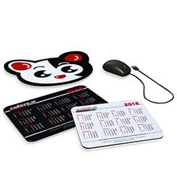 Stampa  Mouse Pad economici con la vostra grafica, Crea il prezzo per il tuo tappetino mouse pubblicitario, i mousepad possono anche essere sagomati a piacere per un gadget ancora più personalizzato.