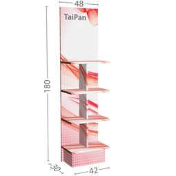 Taipan Espositori in cartone alveolare
