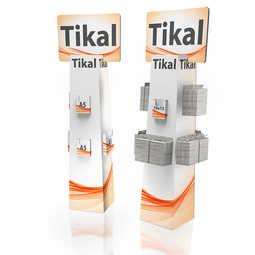 Tikal: Totem in cartone.