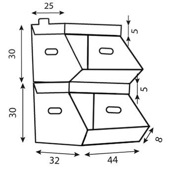 Dimensioni in cm
