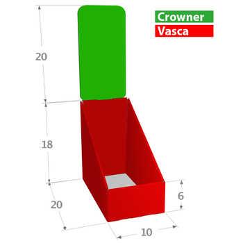 Compo 10x20 Misure in cm. <br>Zone Stampabili o Colorabili a scelta.