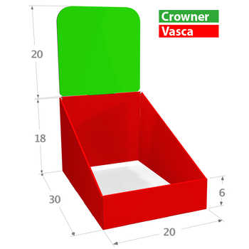 Compo 20x30 Misure in cm. <br>Zone Stampabili o Colorabili a scelta.