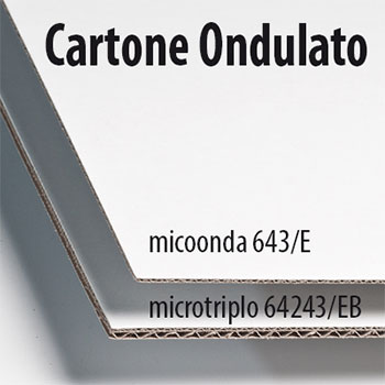 Scatola in cartone bianco micro onda E da 1,5 mm, personalizzabile con stampa a colori, misure personalizzate sulle vostre esigenze.