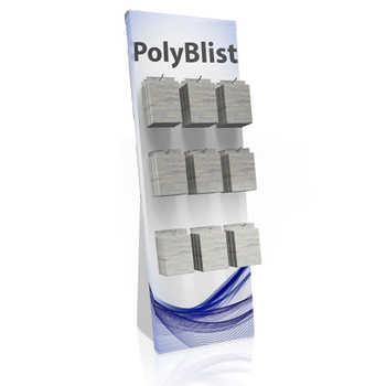 Espositore per prodotti blisterati Espositore portablister da terra in polipropilene
