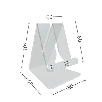 Dimensioni in cm.