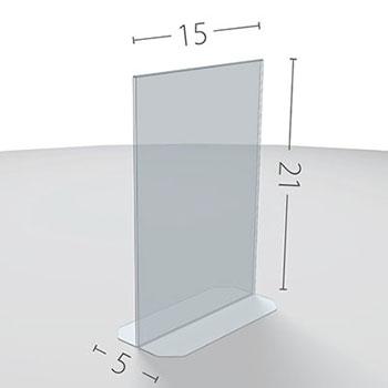A5 Dimensioni in cm.