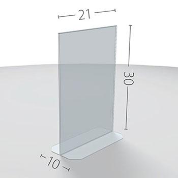 A4 Dimensioni in cm.
