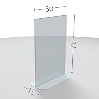 A3 Dimensioni in cm.