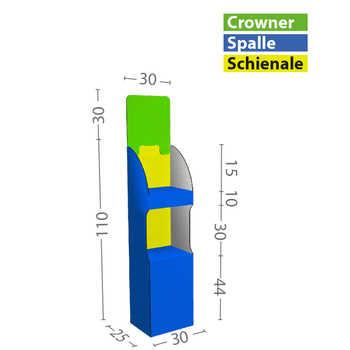 Dimensioni XS in cm