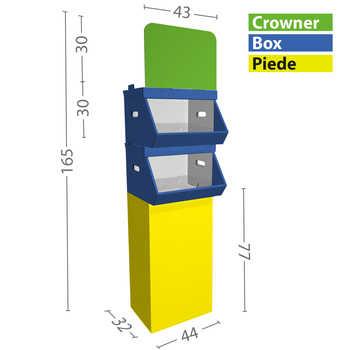 Configurazione S 2 box
