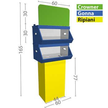 Configurazione M 2 box