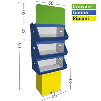 Configurazione M 3 box