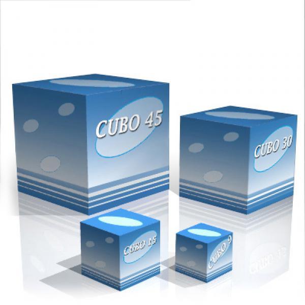 Elementi espositivi per arredare il punto vendita rotair for Cubi arredo